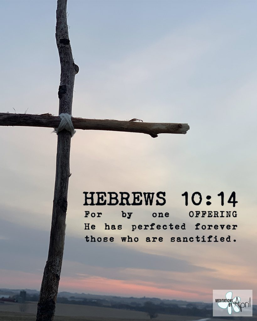 Hebrews 10:14